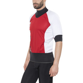 Camaro Competition Watersort Shirt korte mouwen, red/white